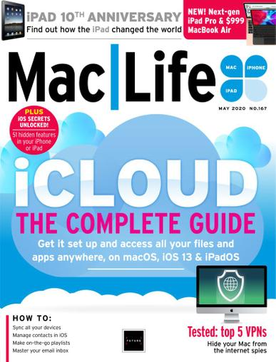 MacLife Magazine May 1st, 2020 Issue Cover
