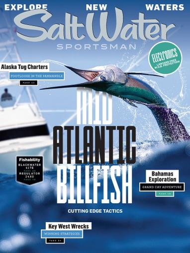 Salt Water Sportsman Magazine June 1st, 2020 Issue Cover