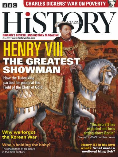 BBC History Magazine July 1st, 2020 Issue Cover