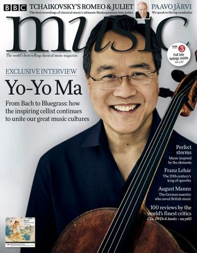 BBC Music Magazine July 1st, 2020 Issue Cover