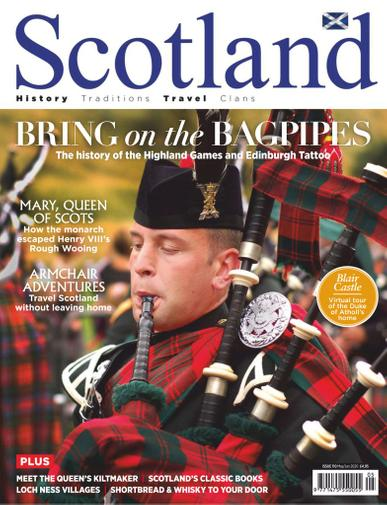 Scotland Magazine May 1st, 2020 Issue Cover