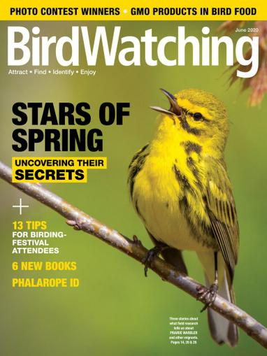 Birdwatching Magazine May 1st, 2020 Issue Cover