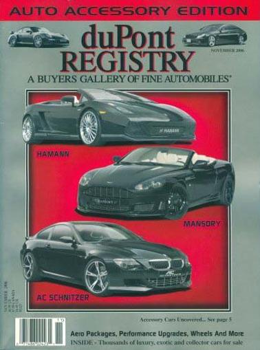 Dupont Registry of Fine Homes Magazine Cover