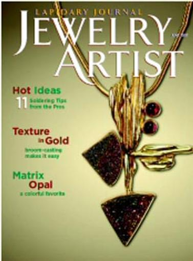 Jewelry Artist Magazine Cover