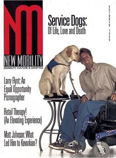 New Mobility Magazine Cover
