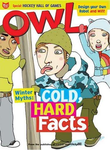 Owl Magazine Cover