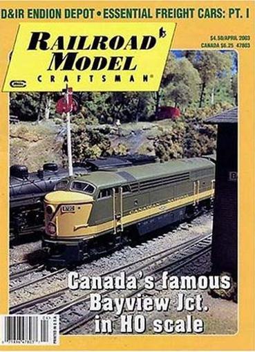 Railroad Model Craftsman Magazine Cover