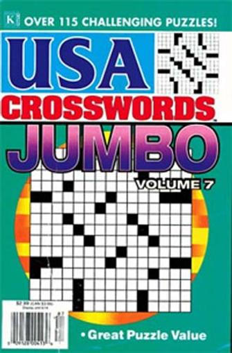 USA Crosswords Jumbo Magazine Cover