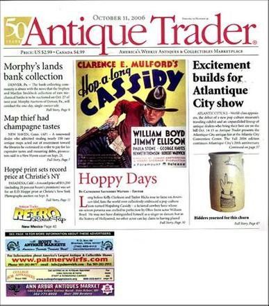 Antique Trader Weekly Magazine Cover