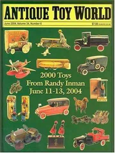 Antique Toy World Magazine Cover