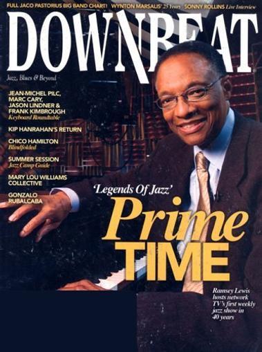 Downbeat Magazine Cover