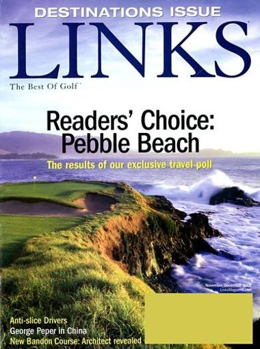 Links Magazine Cover