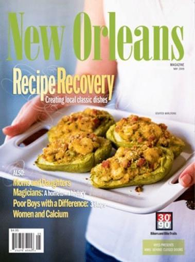 New Orleans Magazine Cover
