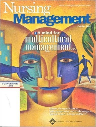 Nursing Management Magazine Cover