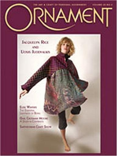 Ornament Magazine Cover