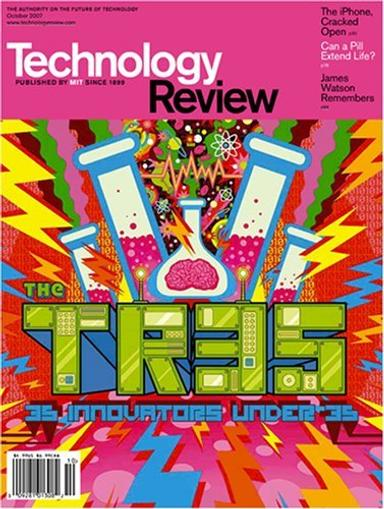 Technology Review Magazine Cover