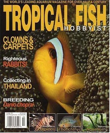 Tropical Fish Hobbyist Magazine Cover