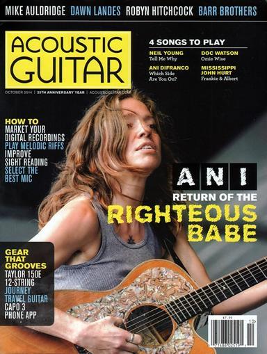 Acoustic Guitar Magazine Cover