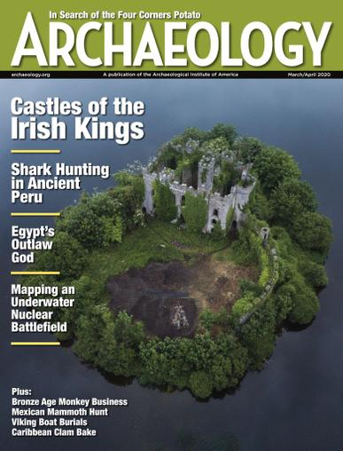 Archaeology Magazine Cover
