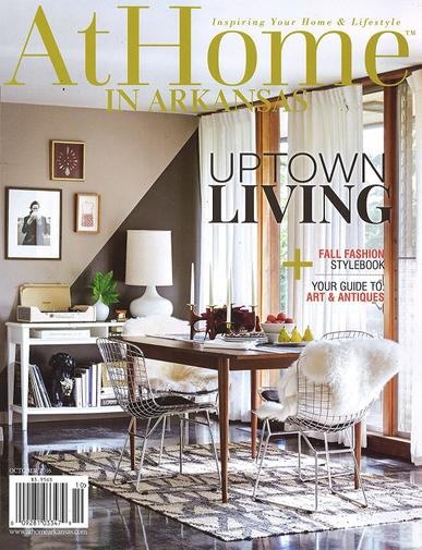 At Home in Arkansas Magazine Cover