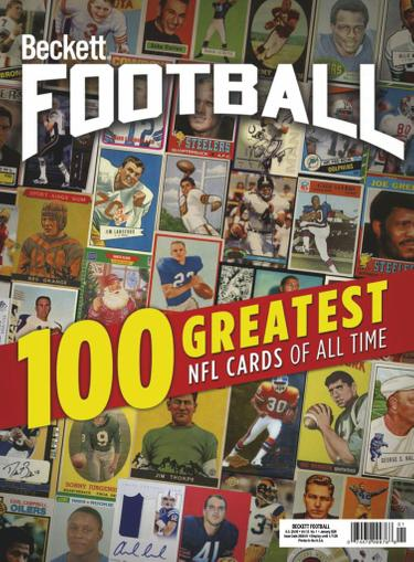 Beckett Football Magazine Cover
