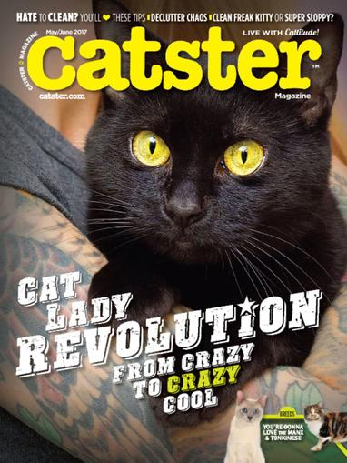 Catster Magazine May 1st, 2017 Issue Cover