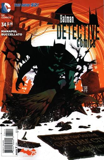 Detective Comics Magazine Cover