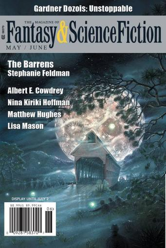 Fantasy & Science Fiction Magazine Cover