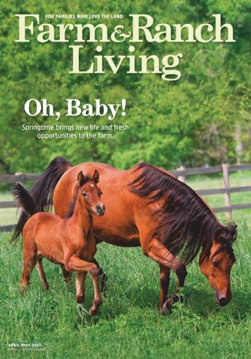 Farm & Ranch Living Magazine Cover