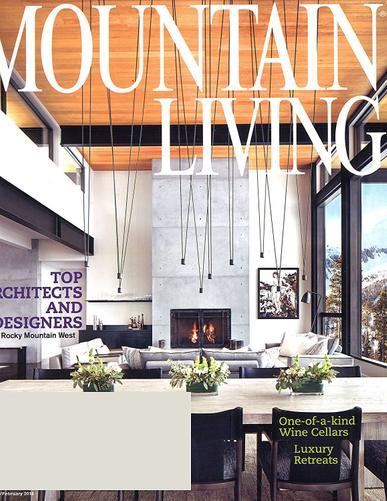 Mountain Living Magazine Cover