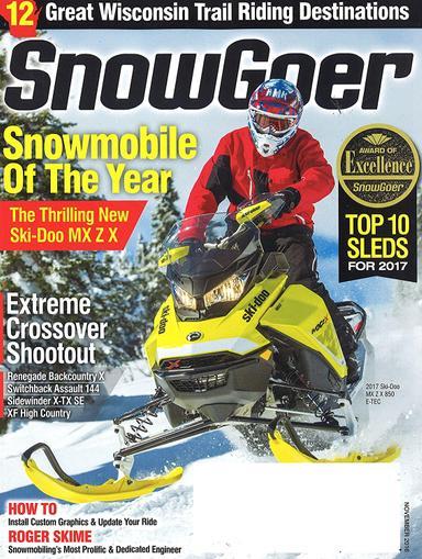 Snow Goer Magazine Cover