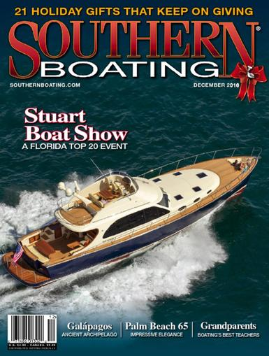 Southern Boating Magazine December 1st, 2016 Issue Cover