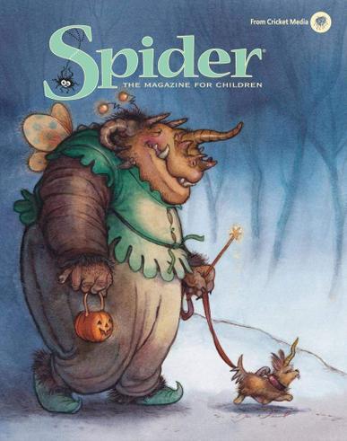 Spider Magazine Cover