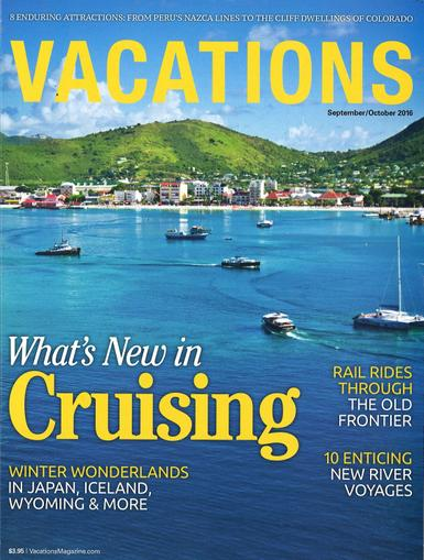 Vacations Magazine Cover
