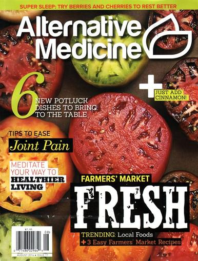 Alternative Medicine Magazine Cover
