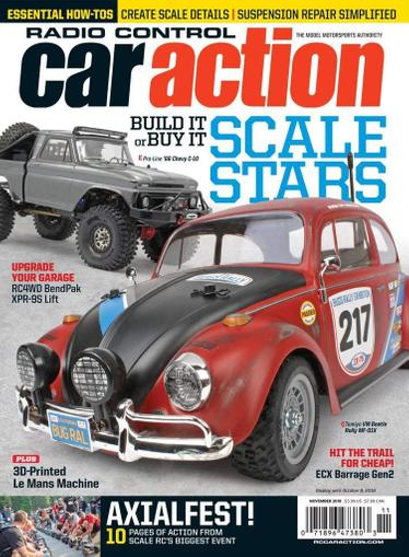 Radio Control Car Action Magazine Cover