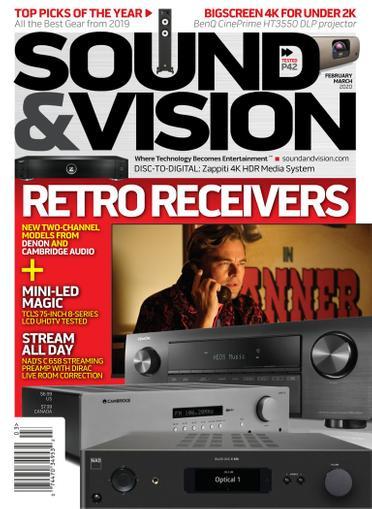 Sound & Vision Magazine Cover