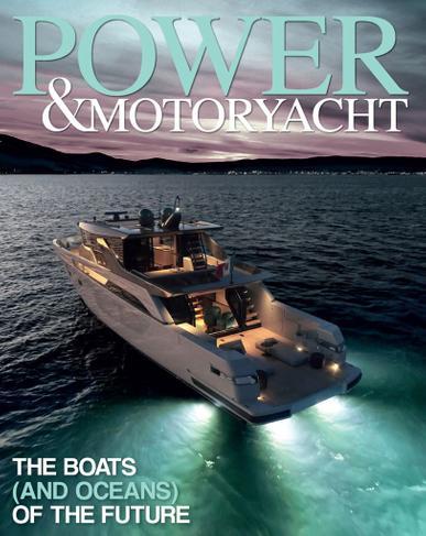 Power & Motoryacht Magazine Cover