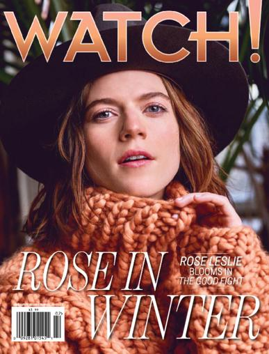 CBS Watch! Magazine February 1st, 2018 Issue Cover