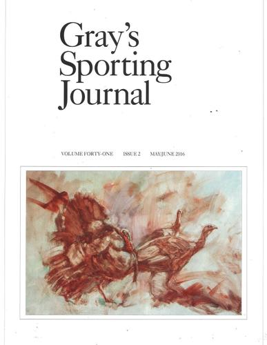 Gray's Sporting Journal Magazine April 1st, 2016 Issue Cover