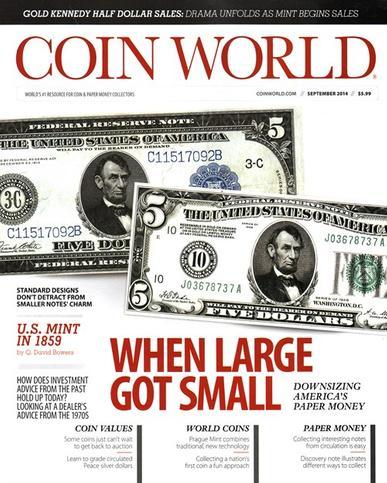 Coin World Magazine Cover