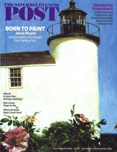 Saturday Evening Post Magazine Cover