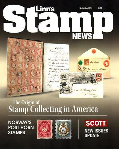 Linn's Stamp News Magazine Cover