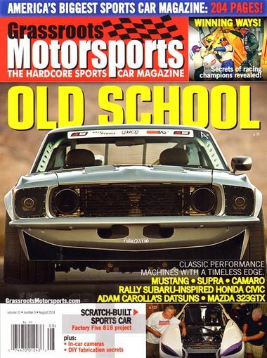 Grassroots Motorsports Magazine Cover