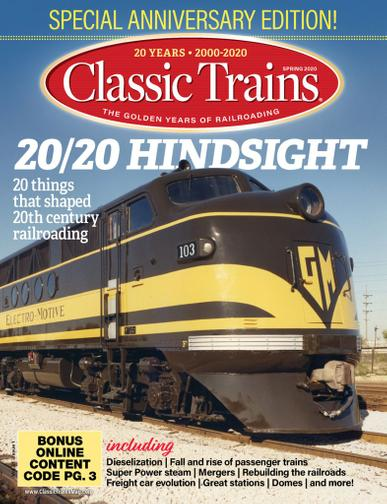 Classic Trains Magazine Cover