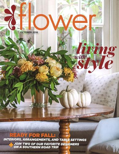 Flower Magazine Cover