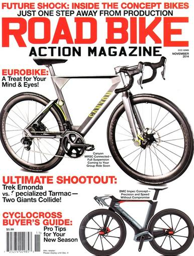 Road Bike Action Magazine Cover