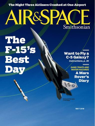 Air & Space Magazine Cover