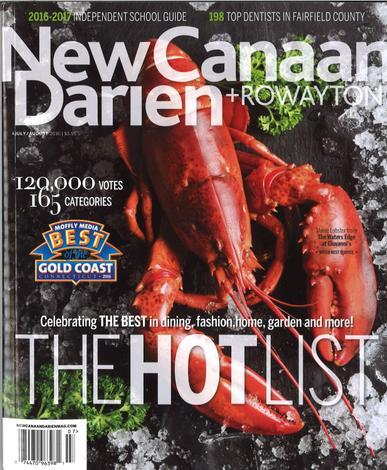 New Canaan-Darien Magazine Cover