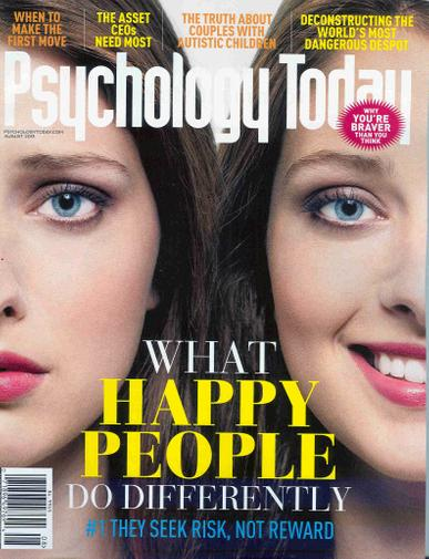 Psychology Today Magazine Cover